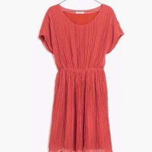 Coral Madewell dress